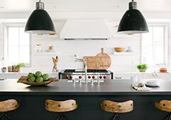 Custom Coastal Kitchen built by RJ Smith