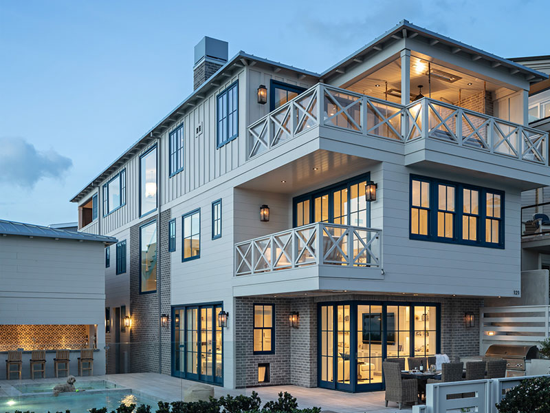 Manhattan Beach Custom home built by RJ Smith Construction