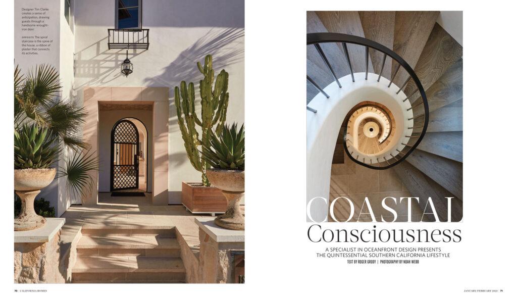 California Homes magazine excerpt