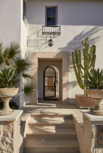 Spanish Modern Design entryway